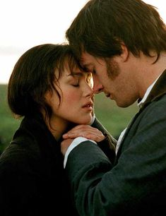 Pride and Prejudice Elizabeth Bennet (Keira Knightley) Mr Darcy (Matthew Macfadyen) Author: Jane Austen Matthew Macfadyen, Jane Austen, Beau Film, Darcy Pride And Prejudice, Great Love Quotes, Julia Stiles, Romantic Films, Romantic Moments, Movie Couples