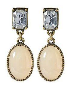Sabine Vintage Cabochon Drop Earring | Piperlime $22