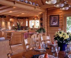 Templeton, CA (#7360) | Real Log Homes since 1963 | Custom Log Homes | Log Home Floor Plans | Log Cabin Kits