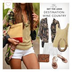The perfect summer outfit for wine tasting #winecountry  #vacation #summertime
