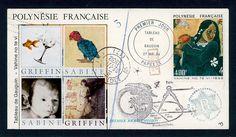 Griffin and Sabine Tahiti Kingfisher Gauguin, Ex Libris, Small Art, Kingfisher, Etsy Seller, Magic, Creative, Artwork, Board
