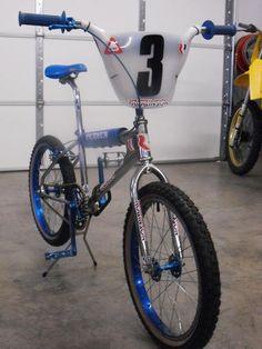 Vintage bicycle used