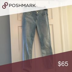 7 for all mankind skinny cropped jeans Never worn without tags 7 For All Mankind Jeans Ankle & Cropped