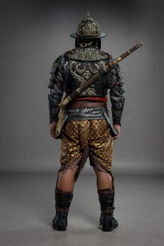 Ancient Armor, Japanese History, Thai Art, Character Design Inspiration, Martial, Armour, Culture, Poses, Costumes