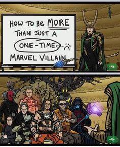 Loki villains film comics comic books comic book movies Marvel comics 200 M A R V E L Marvel Avengers, Marvel Comics, Avengers Humor, Funny Marvel Memes, Marvel Villains, Dc Memes, Marvel Jokes, Marvel Heroes, Captain Marvel