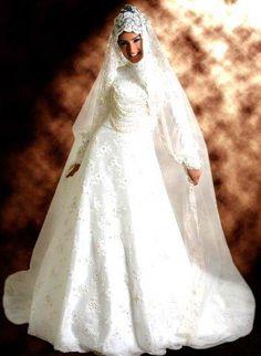 Где купить мусульманское свадебное платье в москве