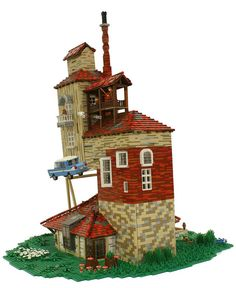 The Burrow from the Harry Potter series, built by Matija Grguric.