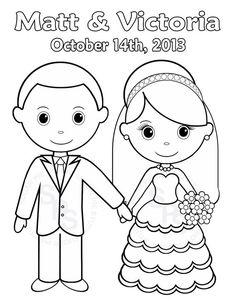 Free Printable Wedding Coloring Pages Free Printable Wedding