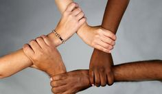 I think this is a good picture for tolerance because it shows how you can coexist with different races. We are all the same no matter the color of our skin or our religions.