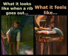 when a rib goes out ...