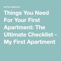 1000 ideas about first apartment checklist on pinterest first apartment apartments and bed. Black Bedroom Furniture Sets. Home Design Ideas