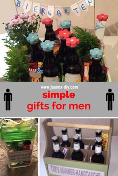 simple gifts for men - need a birthday present for a man?