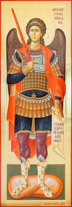 Religious Icons, Religious Art, Angel Drawing, Angel Warrior, Archangel Michael, Orthodox Icons, Angel Art, St Michael, Gabriel