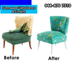 Bring New Life To Your Favourite Chairs By Removing The Old Covering And  Adding A New Form Of Upholstery. Give A Call On: 044 870 7510 And Weu0027ll  Gladly ...