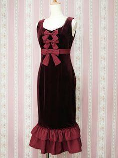 Victorian noble mermaid dress