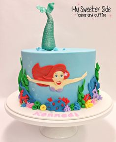 Ariel - Cake by Pam from My Sweeter Side