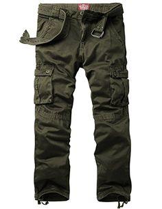 Match Men's Casual Cargo Pants Outdoors Work Wear #6531  http://www.allmenstyle.com/match-mens-casual-cargo-pants-outdoors-work-wear-6531/