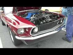 1969 Boss 429 Ford Mustang Royal Maroon 2012 Fab Fords Forever Knotts Berry Farm