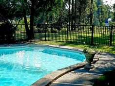 2-Rail Aluminum Pool Fencing