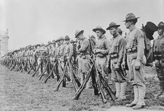 WW1: US Marines arrive in France to join the fight as infantry troops. The American presence in the battlefield tipped the balance and led to Germany's defeat.
