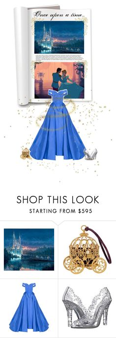 """I can be your Cinderella"" by sunshineb ❤ liked on Polyvore featuring Disney, Christian Siriano, Dolce&Gabbana, GetTheLook, outfit, cinderella, gown and inspiration"