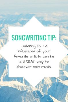 Songwriting Tip | Modern Songstress Blog