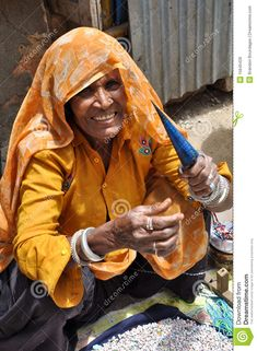 Elderly Lady In India Making Charm Bracelets - Download From Over 55 Million High Quality Stock Photos, Images, Vectors. Sign up for FREE today. Image: 15645429