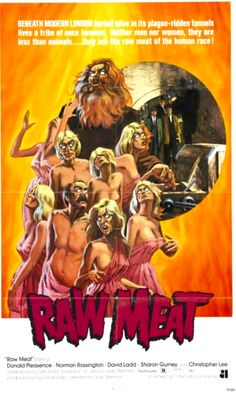 "1972 horror - ""B"" movie poster"