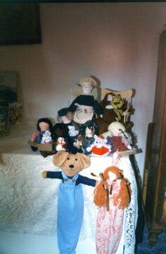 My krafts-a 'doll' stage.  Circa 1995.