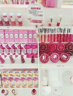 Makeup shopping in Taipei