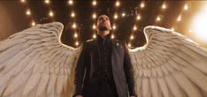 Fantastic Sci-fi, Fantasy TV Shows from Lucifer: It was still one of the top shows of It Lucifer Wings, Lucifer Gif, Tom Ellis Lucifer, Fantasy Tv Shows, Sci Fi Fantasy, Diy Dog Costumes, Halloween Costumes, Halloween 2020, Halloween Diy