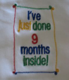 13 Best Embroidered Slogan Baby Wear Images On Pinterest Baby