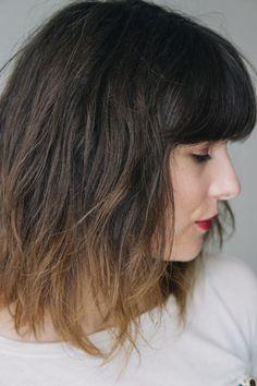 shoulder length bangs and shoulder length hair on pinterest. Black Bedroom Furniture Sets. Home Design Ideas