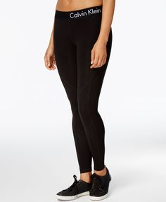 Creating a great look begins with these Calvin Klein Performance leggings…