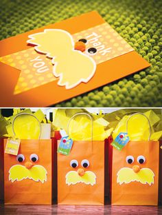 The lorax party bags