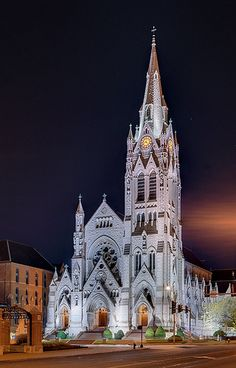 Saint Francis Xavier (College) Church, at Saint Louis University, in Saint Louis, Missouri