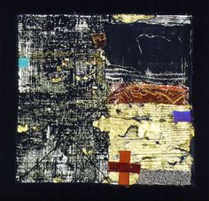 painterly art quilts by Dorothy Caldwell