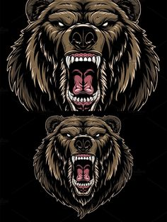 Monster Design, Bear Design, Vector Graphics, Darth Vader, Fictional Characters, Impressionism, Fantasy Characters