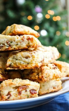Recipe For Overnight Bacon and White Cheddar Scones -