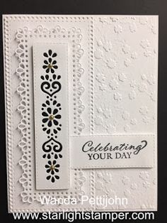 My Creative Corner!: Ornate Layers, Gorgeous Posies, Anniversary or Wedding Card, 2020-2021 Stampin' Up! Catalog Wedding Cards Handmade, Wedding Congratulations, Thanks Card, Sympathy Cards, Greeting Cards, Stamping Up Cards, Motif Floral, Card Tutorials, Happy Birthday Cards