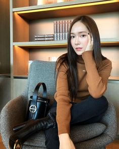 Fall is in the air🍂🍁 ➗ Jessica Grace, Jessica & Krystal, Krystal Jung, Kim Hyoyeon, Yoona, Blanc And Eclare, Yuri, Jessica Jung Fashion, Jessica Jung Style