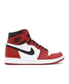 c192b8270efcd2 Air Jordan 1 Retro High Og Chicago White Black Varsity Red 555088 101