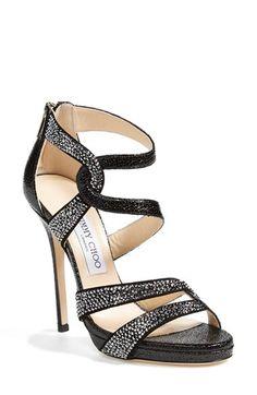 Jimmy Choo  Taint  Platform Sandal Zapatos De Vestir 1a75df5846ed