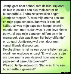 Jantje gaat naar school