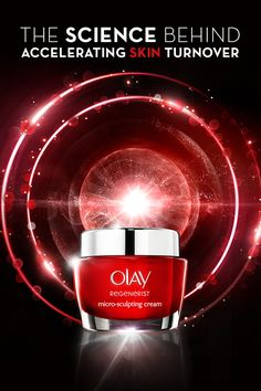 Reveal younger looking skin starting today. Regenerist Micro-Sculpting Cream, formulated with a Skin Energizing Complex, renews skin making surface skin cells behave 10 years younger. Regenerist Micro-Sculpting Cream helps accelerate surface skin turnover and helps retain skin's youthful surface contours. Discover the key anti-aging ingredients inside Olay Regenerist and turn back time.