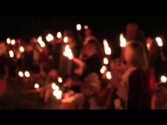 "Wardruna's Einar Selvik Singing ""Helvegen"" on the Borre Grave Mounds in Norway - YouTube"