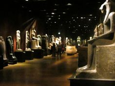 A picture of one of the rooms in the Egyptian museum of Torino. It's in a beautiful palace from the 1600's and contains 6000 years of Egyptian history. A must see!!!