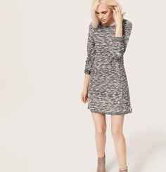 Lou & Grey Spacedye Shift Dress | Loft