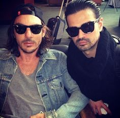 SHANNON LETO and TOMO MILICEVIC