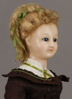 Poured Wax Doll